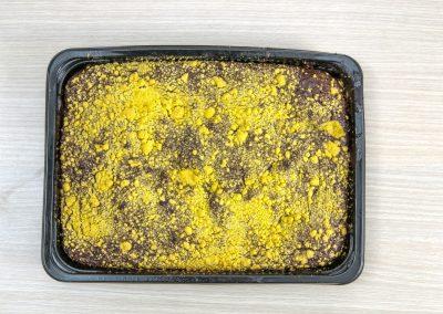Κέικ σοκολάτα με crunch μπισκότου