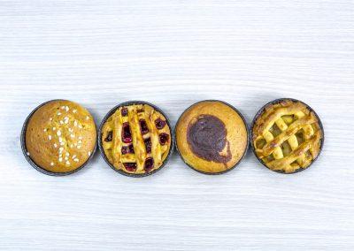 Μηλόπιτα - Κερασόπιτα - Κέικ βανίλια - Κέικ ανάμεικτο